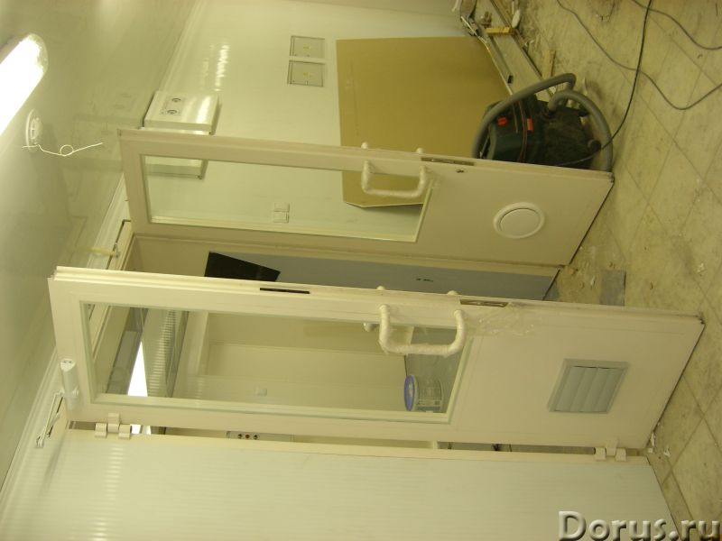 Рентгенозащитные изделия - двери, окна, ширмы, ставни - Материалы для строительства - Дверной блок с..., фото 2
